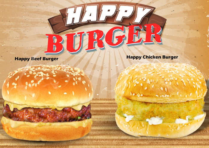 happy  burger ukuran a4