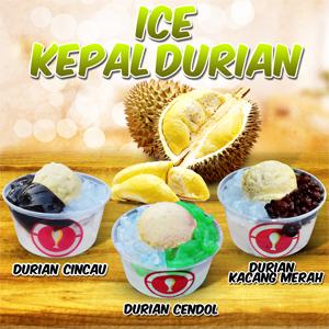 ice kepal durian